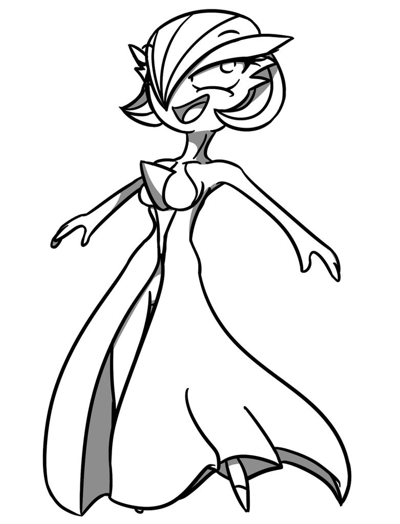 Gardevoir by Adam-Clowery