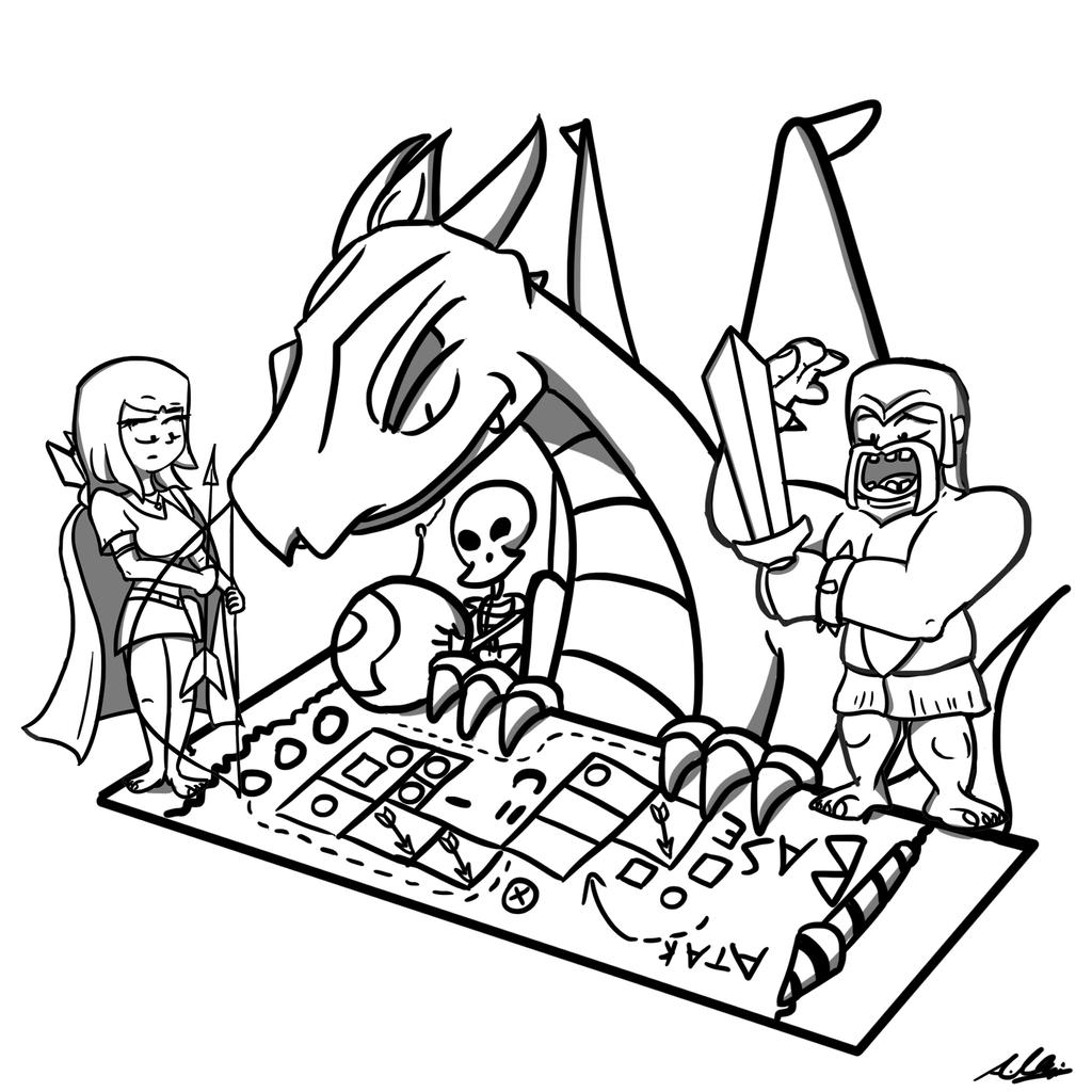Clash Of Clans Strategists By Adam-Clowery On DeviantArt