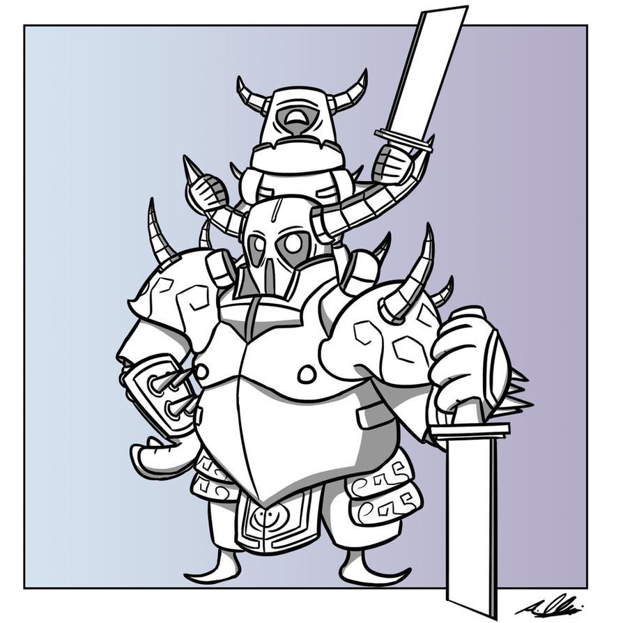 Piggyback Pekka by Adam-Clowery