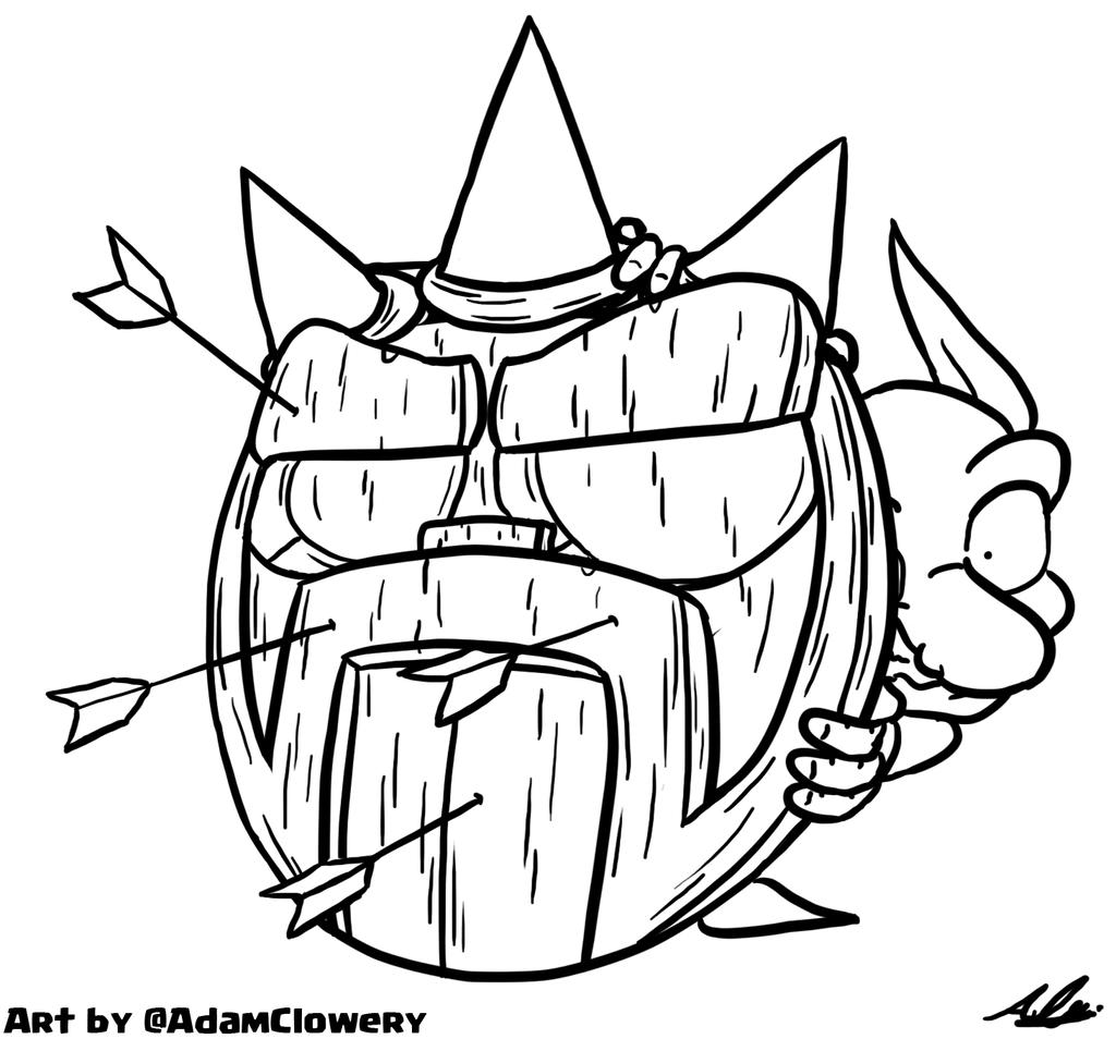 Shield Goblin by Adam-Clowery