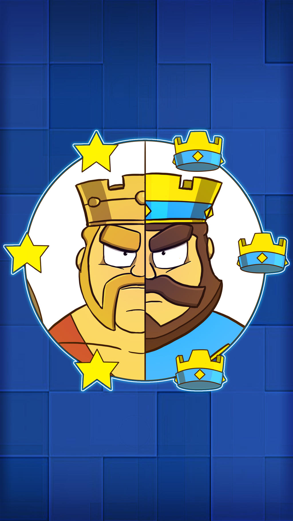 The Kings of Clash (iPhone Background) by Adam-Clowery