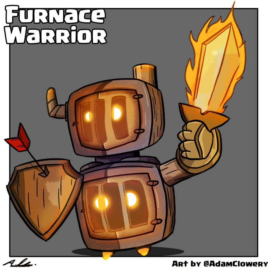 Furnace Warrior by Adam-Clowery