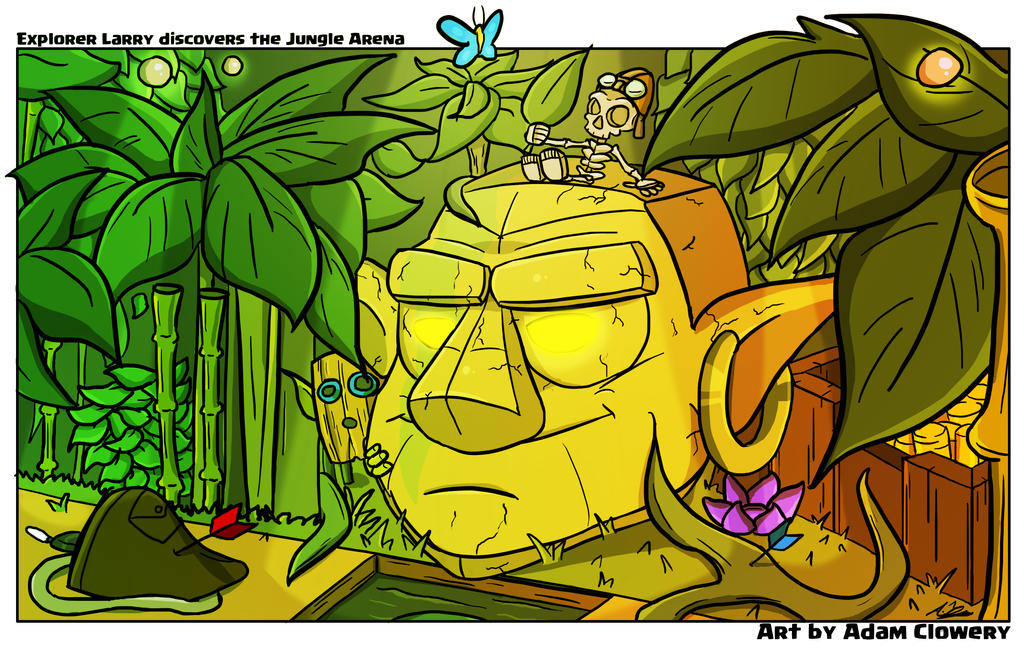 Jungle Arena by Adam-Clowery