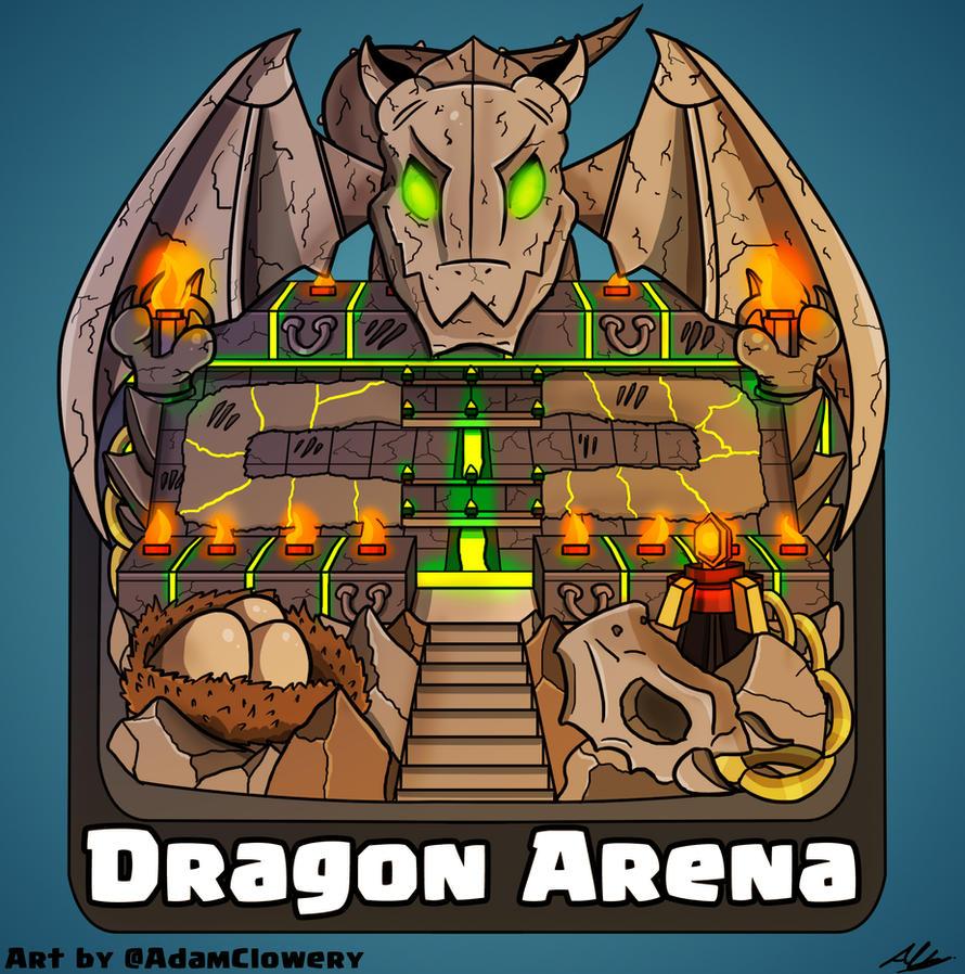 Dragon Arena by Adam-Clowery