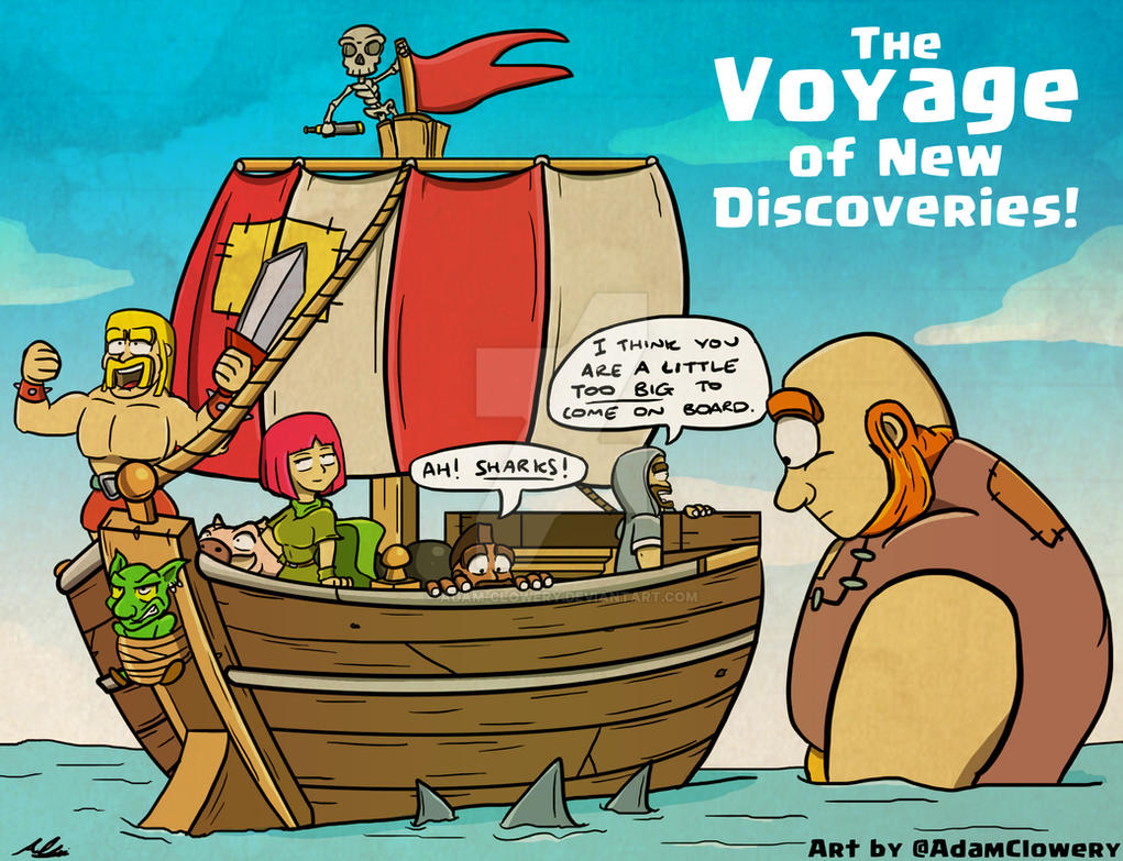 The Voyage of New Discoveries by Adam-Clowery