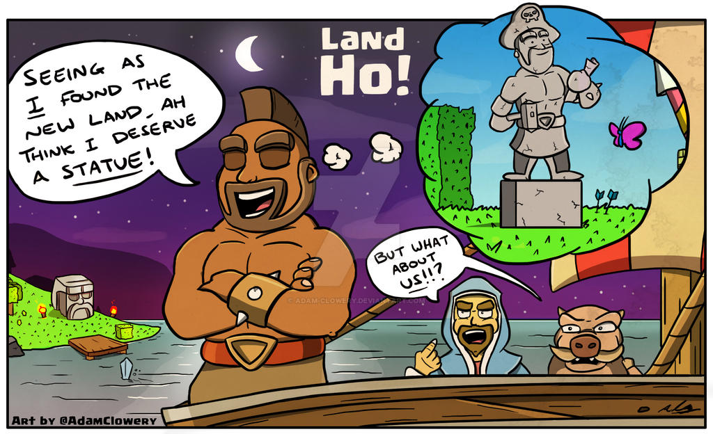 Land Ho! by Adam-Clowery