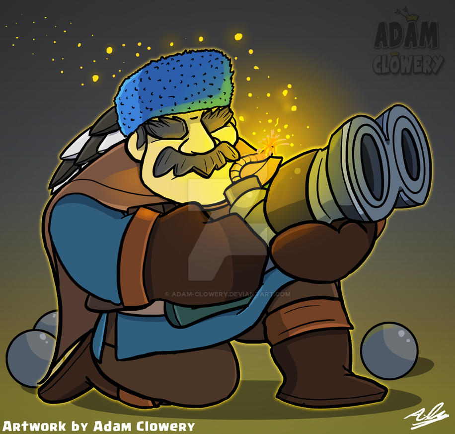 The Hunter - Clash Royale by Adam-Clowery