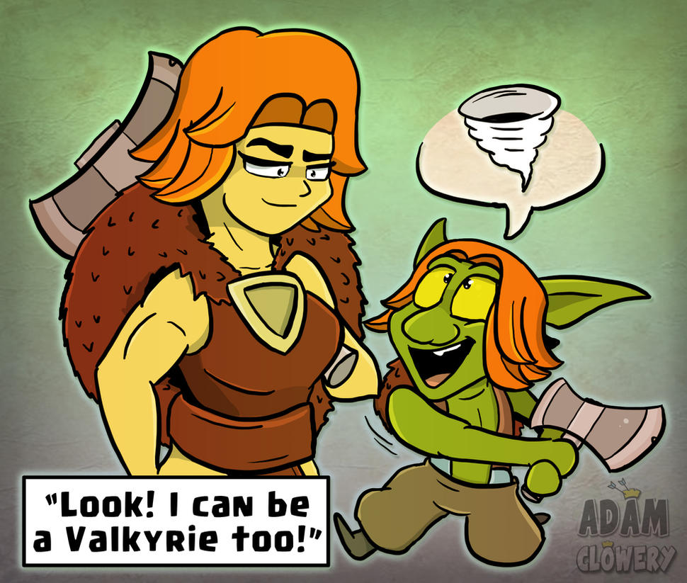 I can be a Valkyrie too! by Adam-Clowery