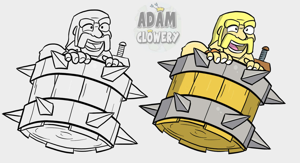 Barbarian Barrel by Adam-Clowery