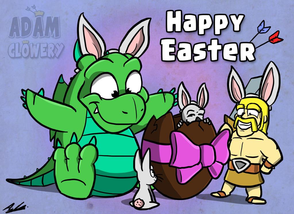 Happy Easter 2018 by Adam-Clowery