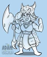 Valkyrie - Dragon Attire by Adam-Clowery