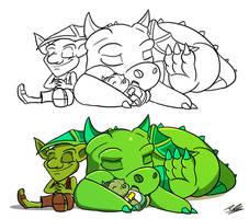 Sleepyheads by Adam-Clowery