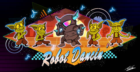 Robot Dancin' P.E.K.K.A by Adam-Clowery