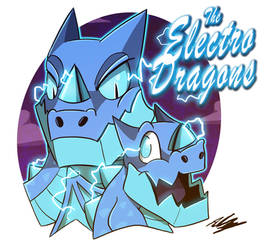 The Electro Dragons by Adam-Clowery