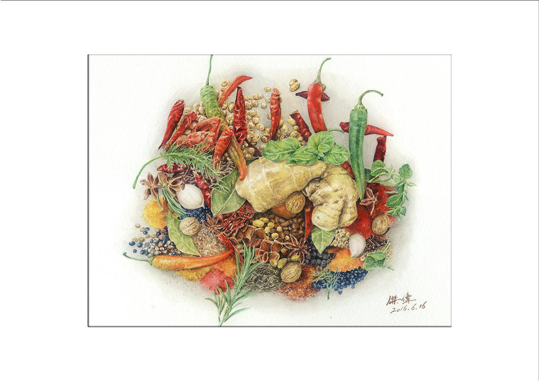 Spices by jackfox2008