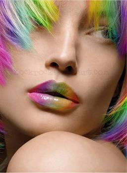 Rainbow Face 2