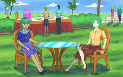 Tranquil Green Club!