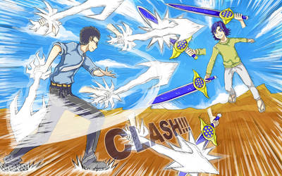 Sword Clash!!!