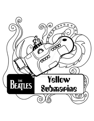 Yellow Submarine Matrioska by Sikeba