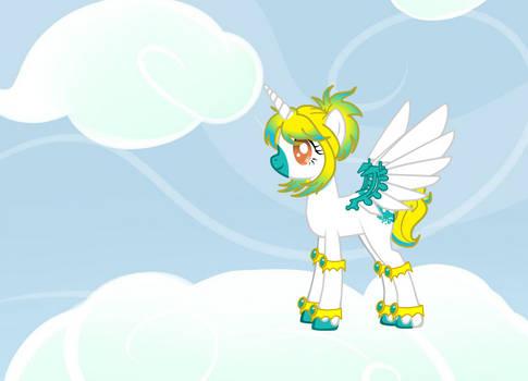 my OC pony Eevee