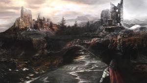 Sunrise Medieval Age