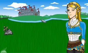 Princess Zelda(Breath of the Wild) by Tundra-Studio