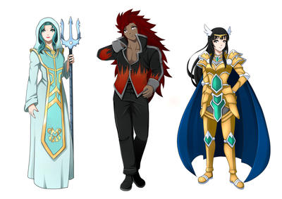 Wizard Saint OCs