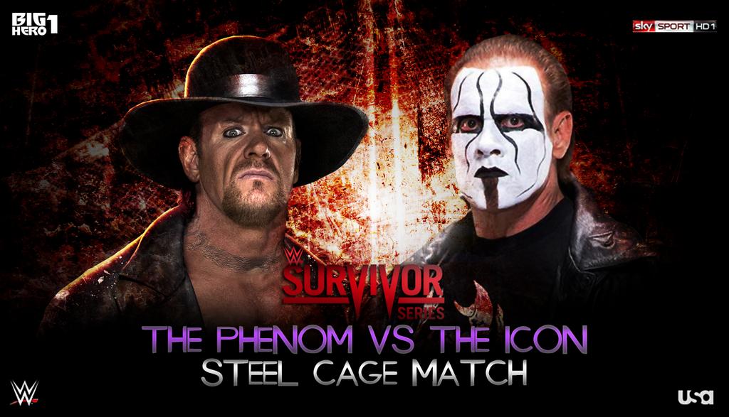 Survivor Series Match Card by BigHero1 on DeviantArt