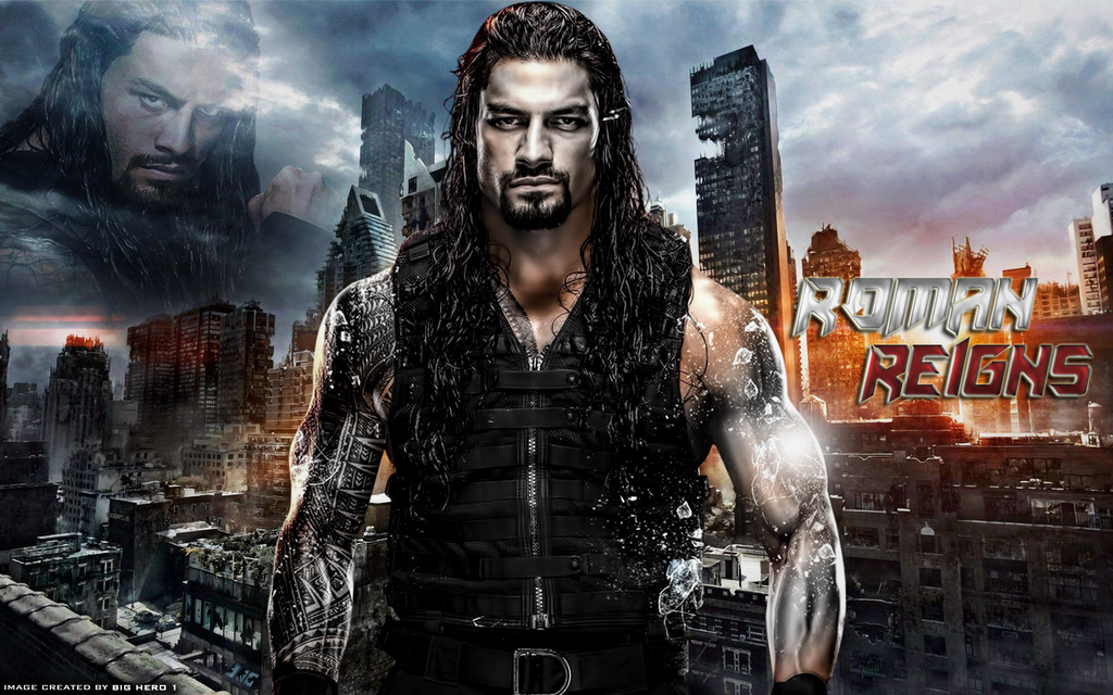 Roman Reigns Wallpaper By BigHero1