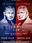 WWE Summer Slam 2016 Poster