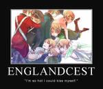 Englandcest Motivational Poster