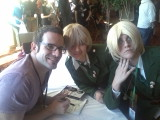 J. Michael Tatum with 2 Englands by LawlietLight7