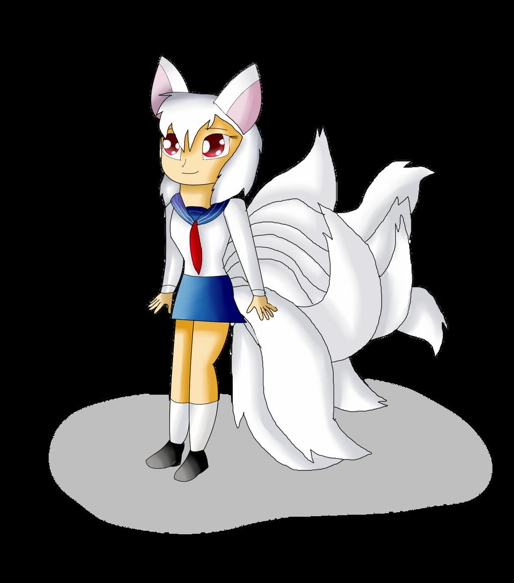 Ayako the Kitsune Human Form by KendraTheShinyEevee on DeviantArt