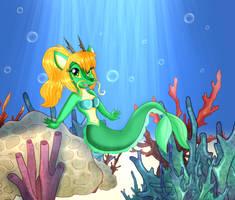 Cute Mer-Dragon Kaida