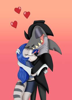 Mako X Bluebell Loving Embrace