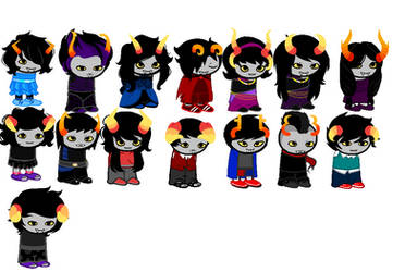 5 point Fantroll adopts! (Open! ) by KakeandOreosAdopts