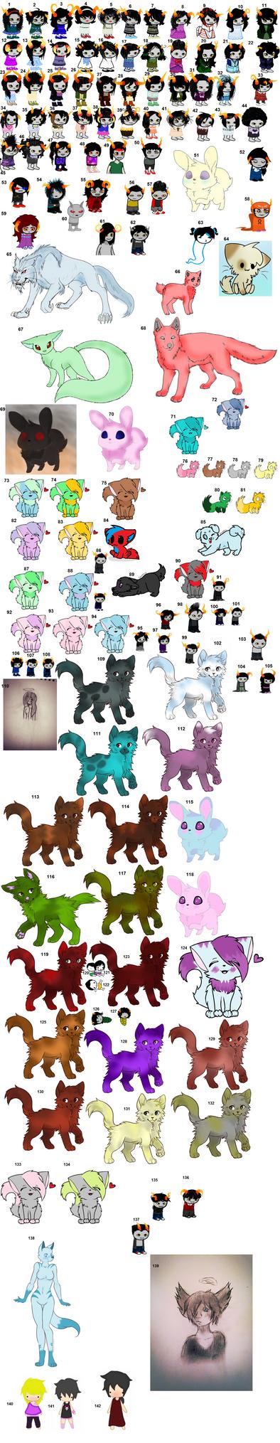 Art For Adopts 3 (Open) by KakeandOreosAdopts