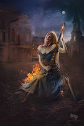 Joan of Arc: A Tale of Wind and Fire by Methyss