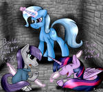 Trixie is evil By Moonlight0Shadow0