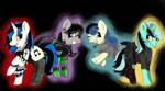 Goth Ponies By drippykitty by ichiban-iceychan1517