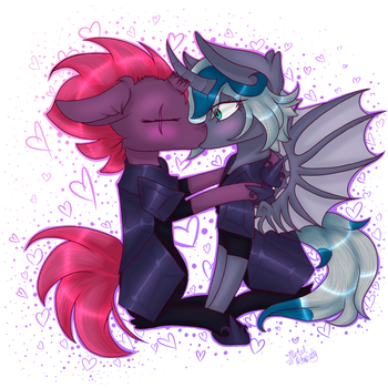 (MLP Movie spoilers) Kiss By ZombieCupcake101 by icey-wicey-1517