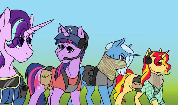 Ghost Recon: Ponylands by Phyrethefyredemon