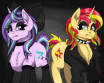 Goth Sunset + Starlight by icey-wicey-1517