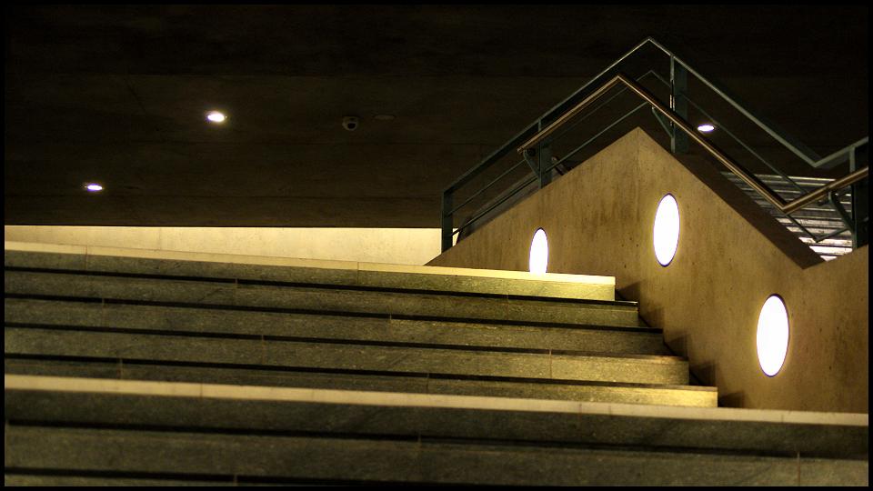 Stairway to U-Bahn by Fr34kZ