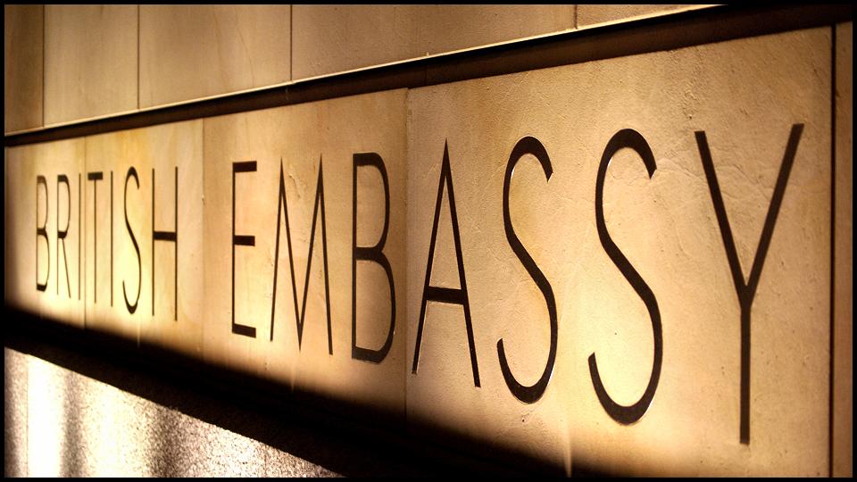 British Embassy by Fr34kZ