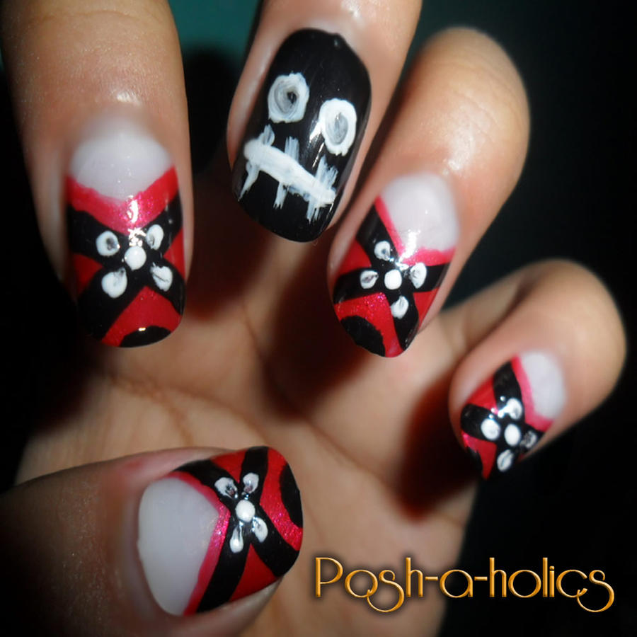 23 nice Emo Nail Art – ledufa.com