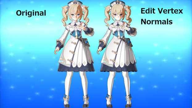 Edit Vertex Normals