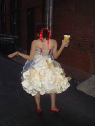 popcorn dress 2 by klindicative