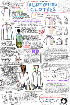 Illustrating Clothes: Shirts