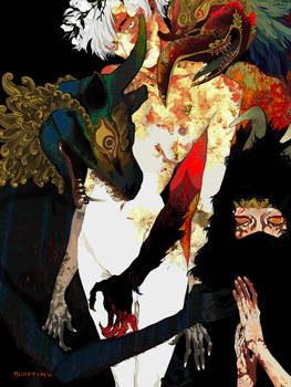 flower boy and demons
